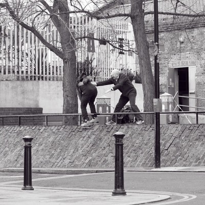 Crop from yesterday's 'Anti-skate hero' vs Leon #skatehateinducedstroke