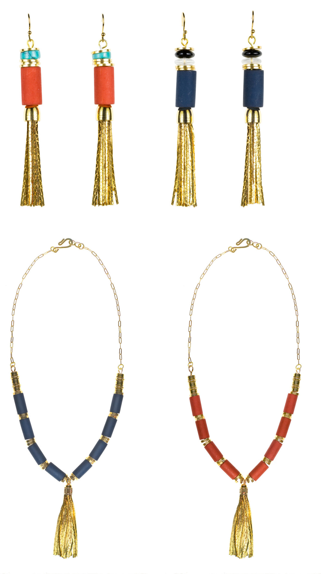 Need some bling? We're obsessed with Tibetan-inspired necklaces + earrings from Jenny Bird. They make the perfect present for yourself or a sparkle-loving pal. Take them home, here.