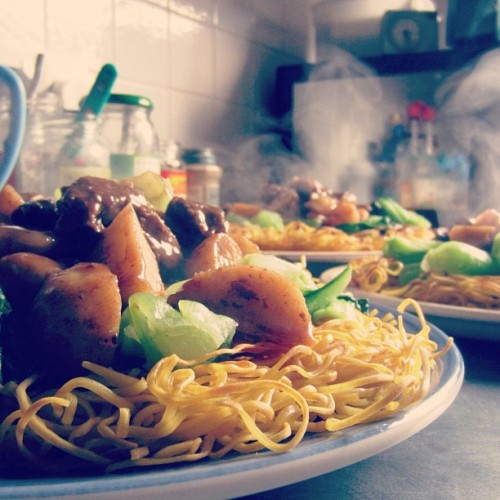 Dinner #noodles #chinesefood #hungry #food