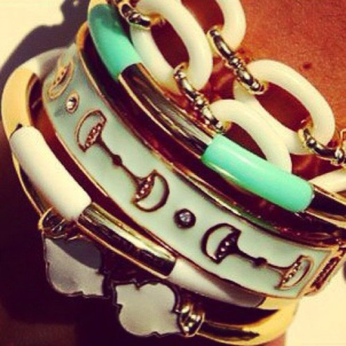 We couldn't decide which of our new bracelets we like best so why not wear them all! 💘 #adabelles #bracelets #jewelry #spring #summer (at adabelles.com)