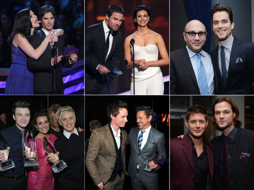 The 2013 People's Choice Awards looked like they were a ton of fun! Lots of backstage pics here!