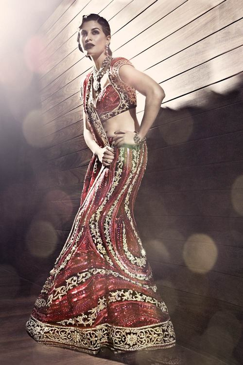 beautifulindianbrides:  Outfit by:Satya Paul