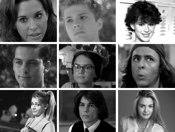 "Teen Film Superlatives — we award these teen film characters ""Best Hair,"" ""Best Body,"" + more."