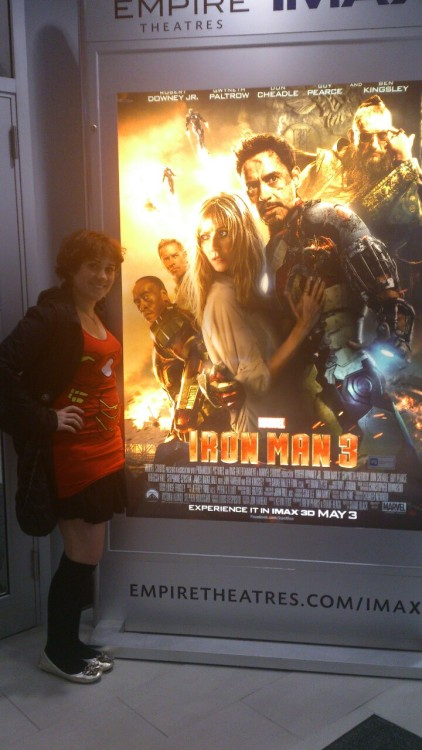 IRON MAN 3 TIME AHHHHHHHHH so excited~