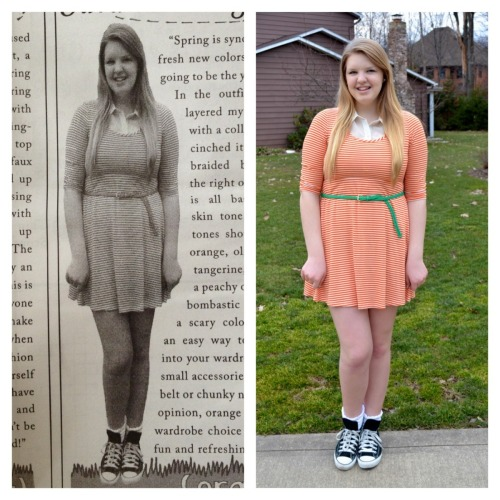 I was in the newspaper today for my fashion blog!!! yaya