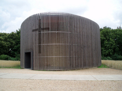 Chapel of Reconciliation in Berlin (via Mr and Mrs Wax)