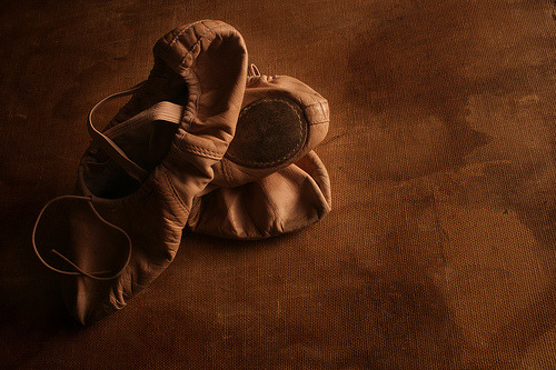 aurelie-dupont:  kari-shma:  My Ballet Shoes (via ~Michal)
