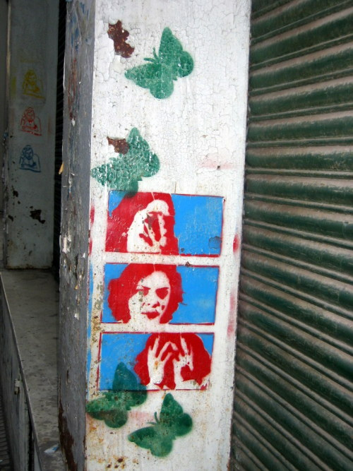streetsoftheworld: I just love this one - also found in Buenos Aires around 2005