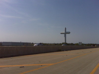 Big effing cross in Effingham.