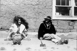 Janis                Joplin                and                Tommy                Masters,                Truchas,                New                Mexico,                1970. via americanhistory.si.edu