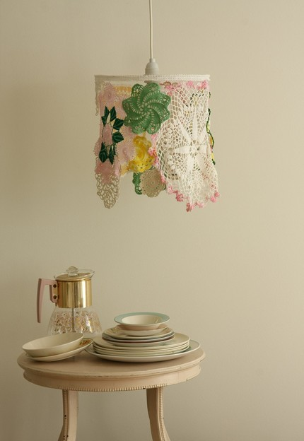 Handmade Housewares on Etsy - Bouquet Light Shade (3) by nice