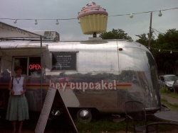 "Went to ""Hey Cupcake!"" this weekend in Austin!  Read about it in the last issue of Domino magazine.. so happy we checked it out!"