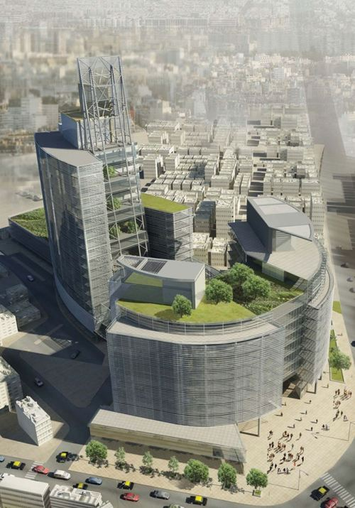 Kohinoor Skyscraper Competition for Mumbai, India » Inhabitat