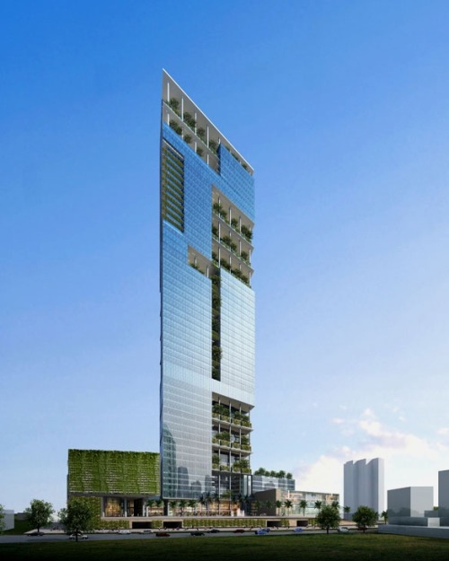plan for Elphinstone Mills Tower, Mumbai, India » IndianSkyscraperBlog