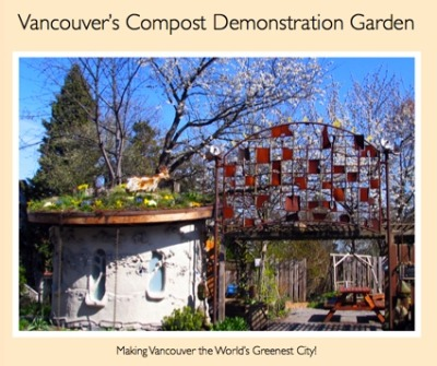 "urbangreens:  The Vancouver Compost Demonstration Garden teaches Vancouver residents how they can 'go green' at home. Composting is part of a larger City strategy named 'Grow Natural', which shows the public how to ""save time, money and the environment by using natural yard care techniques."" via City Farmer News"
