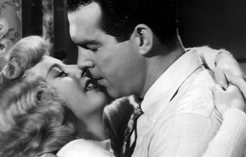 "Barbara Stanwyck & Fred MacMurray in Double Indemnity (1944) ""Yes, I killed him. I killed him for money and for a woman. I didn't get the money and I didn't get the woman. Pretty, isn't it?'"