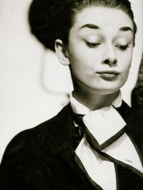 oldhollywood:  Audrey Hepburn is not impressed. (via mptv)