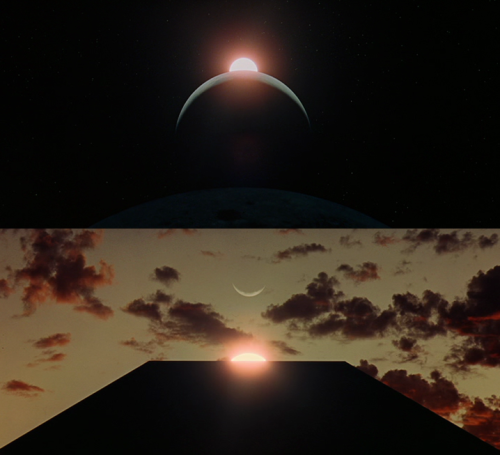 "2001: A Space Odyssey (1968, dir. Stanley Kubrick) ""A film is, or should be, more like music than like fiction. It should be a progression of moods and feelings. The theme, what's behind the emotion, the meaning, all that comes later."" -Stanley Kubrick"