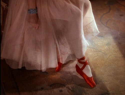 Moira Shearer in The Red Shoes (1948, dir. Michael Powell & Emeric Pressburger)