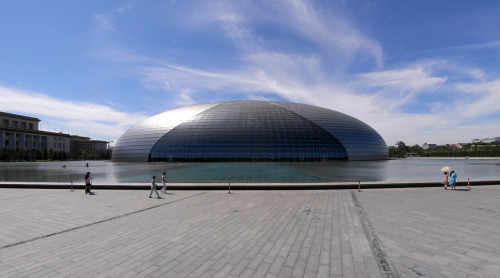 National Centre for the Performing Arts by Paul Andreu. Beijing, China. Source : Liao Yusheng.