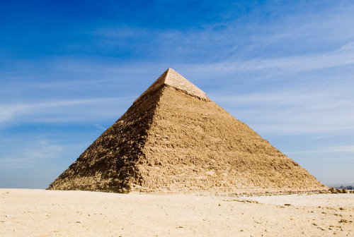 The great pyramid in Giza | Egypt. One of the 7 wonders of the old world and the only one who survive. Source :  Liao Yusheng.