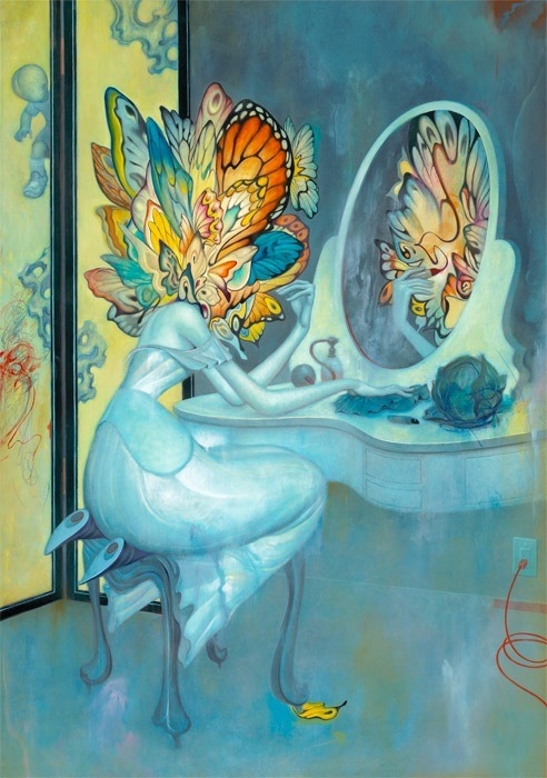 "tfail:  ""Vanity"" - James Jean"
