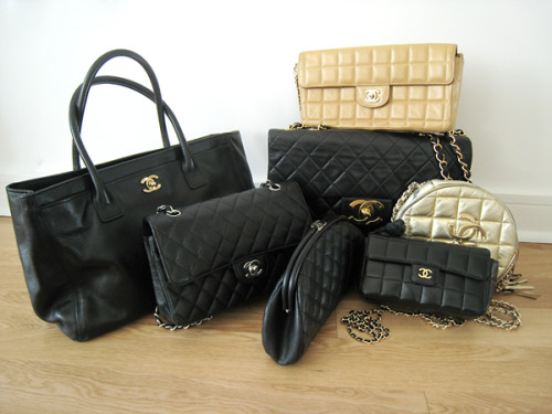 bohemeextreme: j-squareddd: THANK YOU FOR REBLOGGING, AUBREY. =D I just had a Chanelgasm. OMGGGGGGG. I love the one on the far left. I die. all the essentials you need in life!