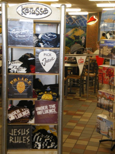 Some of the many fine items one can buy at the World's Largest Truck Stop.