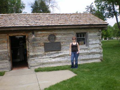 An original Pony Express station in Gutenberg, NE.