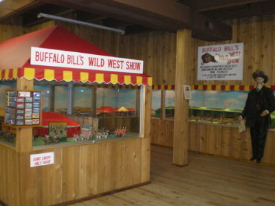 Buffalo Bill's Wild West Show….IN MINIATURE!