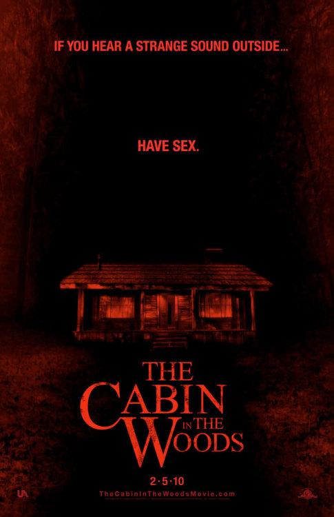 kekkoz: The Cabin in the Woods posters | Underwire