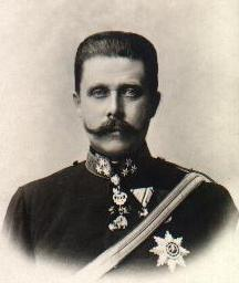 This is Archduke Franz Ferdinand of Austria.