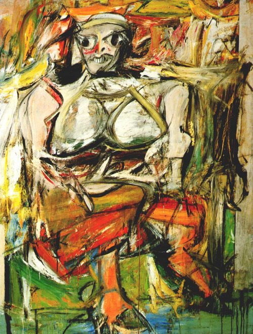 """Woman""  1950-1952  Willem de Kooning"
