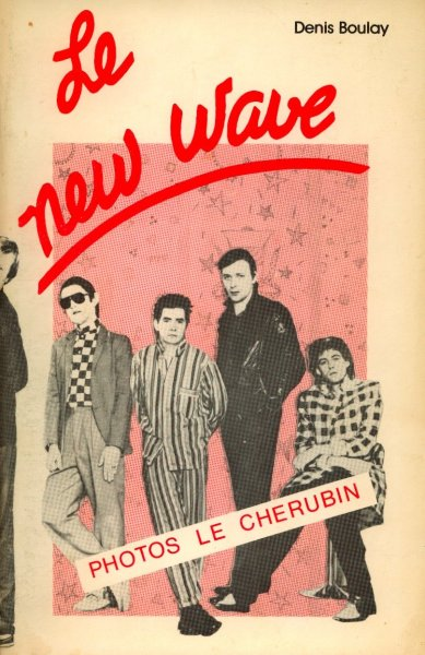 it's always seemed unfair that the police were called new wave. isn't new wave too cool to include the police? from now on only elvis costello, nick lowe and the talking heads can be called new wave, plus these guys on the cover of le new wave, plus maybe the cure's first album, plus whichever members of blondie that is who's standing far right on the cover of parallel lines. he had good hair. everyone else has to find a new genre name, like sad old synth-pop, or maybe something like power-mod, sire-squeeze, or electro-plastic.