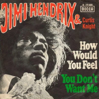 the only thing better than listening to jimi hendrix play with his masterful maxillary central incisors is looking at the album covers for his late-60s german import singles.