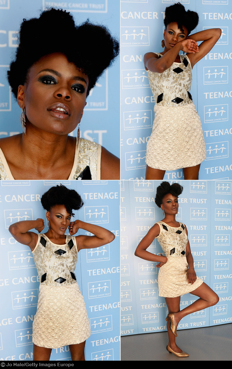 lecoil:  Shingai Shoniwa. Workin' it. (via zimbio)