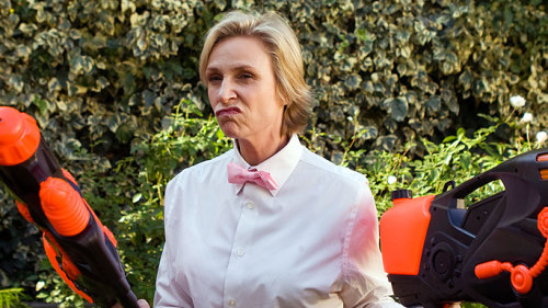 megsnotplural: This is how I feel about Jane Lynch not returning to Party Down for season two.  STEP IT UP JENNY COOLIDGE.