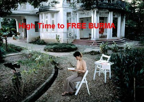 No slumber parties at Aung San Suu Kyi's house. Looks like John Yettaw was the last to hear…