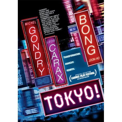 "I watched Tokyo! last night on DVD, after planning to see it in the theaters (more correctly ""theater,"" as this private French film only showed at one location in Manhattan) with a Japanese friend but never making it.  Tokyo! is a compilation of three short films, two by French directors Michel Gondry and Leos Carax and one by South Korean director Bong Joon-Ho. The films really only share one thing in common, location- all are set in Tokyo. Each of the directors lovingly critique and exclaim the city and its inhabitants; as a cohesive work, this film is a triumph of the human spirit.  I had planned to write an indepth review, but I just read a fantastic one by Bill Gibron at Pop Matters: http://www.popmatters.com/pm/post/102313-tokyo-2008-blu-ray/  I'd certainly recommend this film to fans of foreign and independent film and to those who've visited/lived in Tokyo. This film made me think and left a strong impression on me (not to mention stirring up nostalgia in this three year inhabitant of the world's largest city), signs of a good film.    Share 