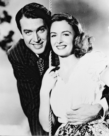 Jimmy with Donna Reed. This makes my heart melt.