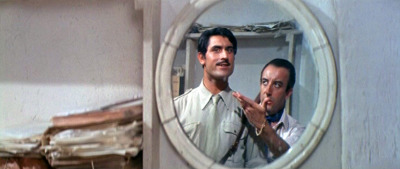 Lando Buzzanca & Peter Sellers - After the Fox (1966) —————————————————————————————  Harry - Did you ever hear of an Italian film director called Federico Fabrizi? Tony - No. Harry - He's downstairs. He wants to talk to you about a picture. Tony - What? Harry - A neorealistic film. Tony - Send him up. What's neorealism? Harry - No money.