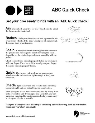 E79ers - Get your bike ready for the Bike to Work Week Challenge!
