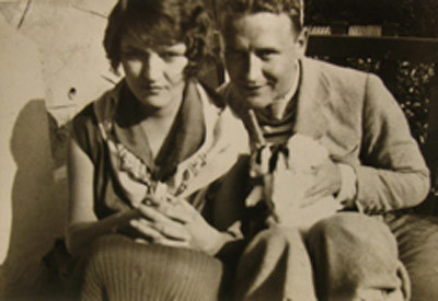 slippy: F. Scott and Zelda Fitzgerald in Antibes, 1926.