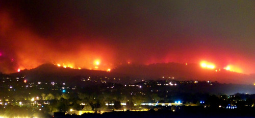 Followed this fire all last night in my home town of Santa Barbara. Where did I find the most accurate and up to date information: Twitter I knew where the cops were evactuating homes at a moments notice because Twitter users would use their phones to tell the rest of Santa Barbara when they had to evac. Also interesting to see Twitter users in Santa Barbara asking the founders of Twitter not to have a schedule maintainace for Twitter today. Goes to show you that Twitter is the communication life line in natuarl disasters. Sending good karma to SB and hope rain comes soon. Keep up the great fight Brain and the rest of the central coast fire fighters.