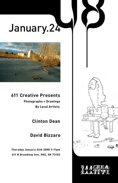 Dual showing featuring David Bizzaro and Clinton Dean.