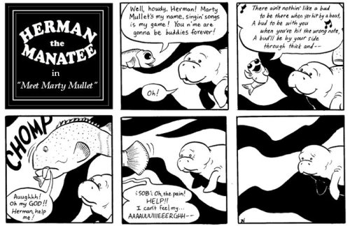 Herman the Manatee » Blog Archive » Meet Marty Mullet