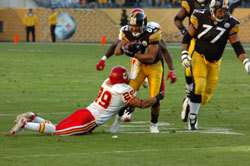 Pittsburgh Steelers and Kansas City Chiefs
