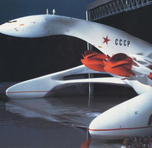 Giant flying boat 'Leda' (1983), designed by Luigi Colani