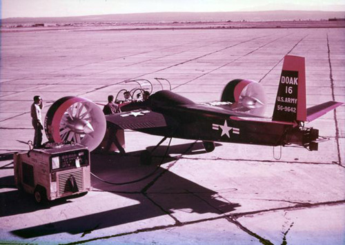 """Doak VZ-4, testing at Edwards AFB"""
