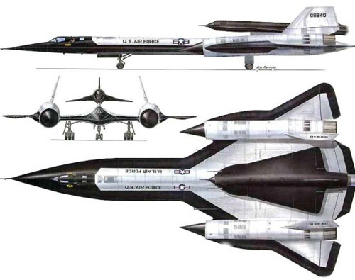 M-21 Blackbird, with D-21 Drone